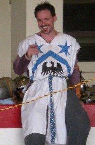 Wilhelm Meis at Far West Baronial Coronet Tournament 2011