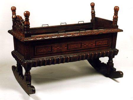 Cradle of James VI of Scotland