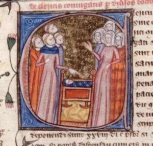 Royal 6.E.vi,  f. 296v. detail